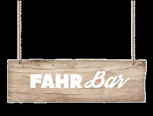 FahrBar Schild Klein